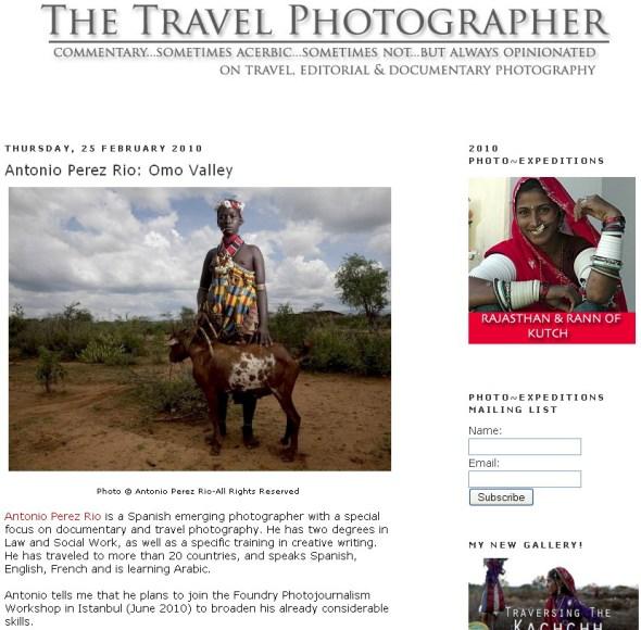 The Travel Photographer