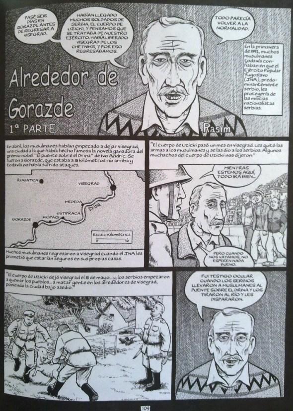 Joe Sacco - Gorazde Zona Protegida