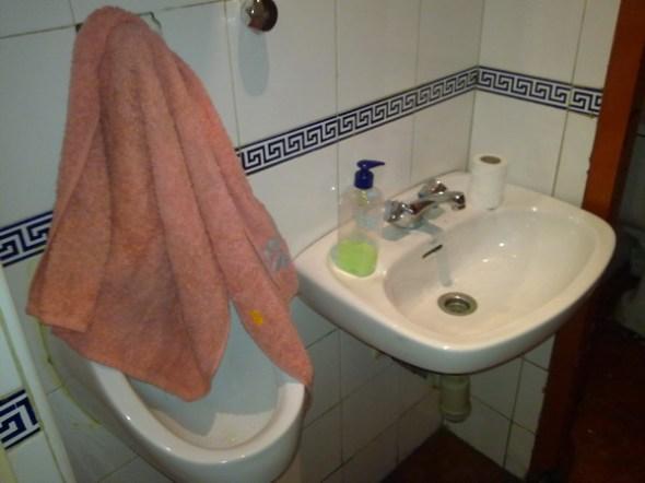 Ojito con la toalla
