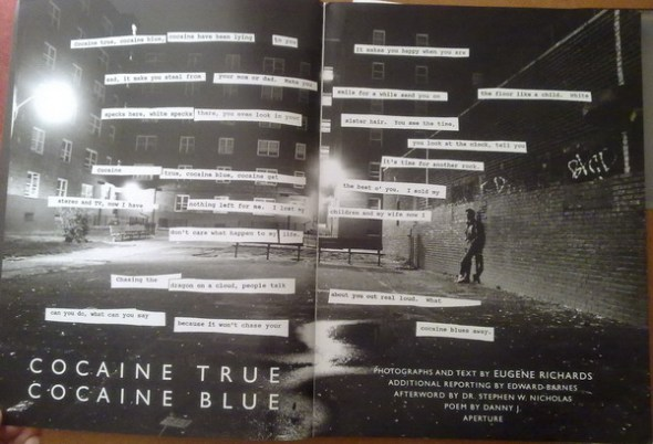 Eugene Richards - Cocaine True Cocaine Blue