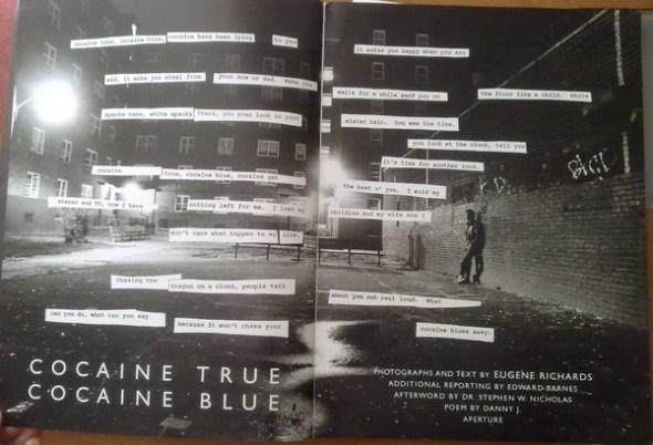 Eugene Richards - Cocaine True Cocaine Blue