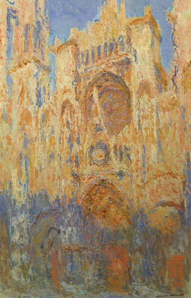 Catedral de Rouen, Fachada (crepúsculo). 1889