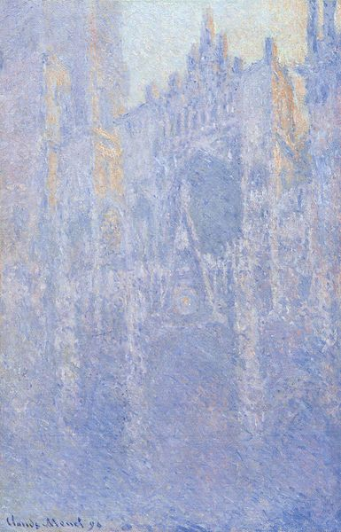 Catedral de Rouen, Fachada (efecto matinal). 1889