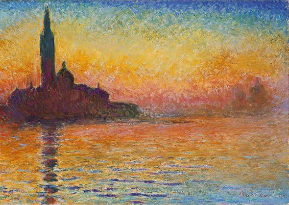San Jorge el Mayor en el crepúsculo, 1908