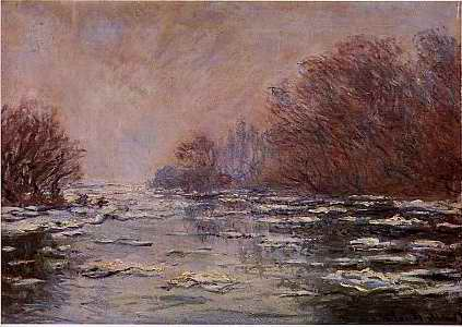 Deshielo cerca de Vetheuil - 1880