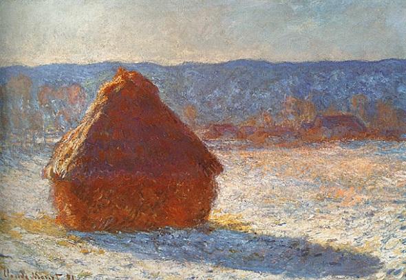 Almiar con nieve.1891