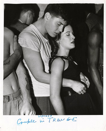 Couple in voodoo trance 1956