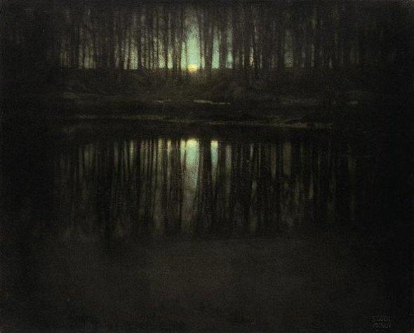Moonrise, Mamaroneck, 1904