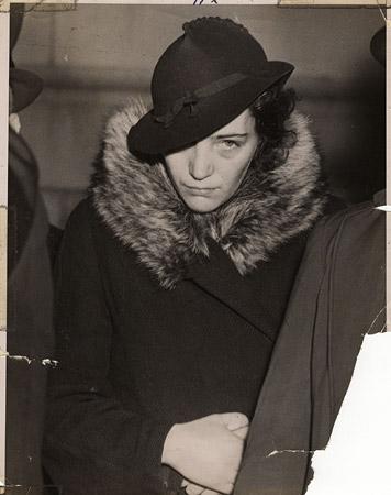 Mrs Anna Sheehan accused as murdereress 1937