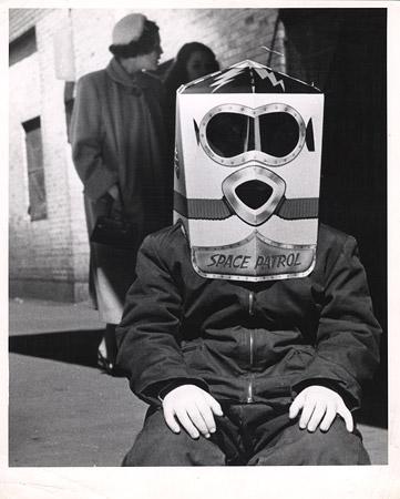 Space patrol, 1954