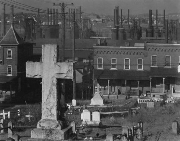 Cemetery, Bethlehem, 1935