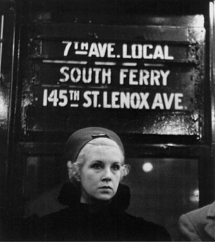 Subway portrait, 1938
