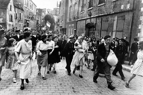 Robert Capa - Collaborator, Chartres, 1944