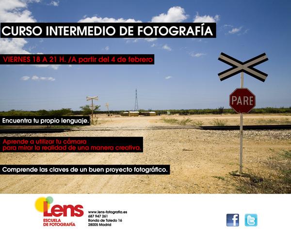 Curso Intermedio de Fotografía en LENS