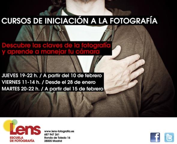 Cursos de Iniciación a la Fotografía en LENS
