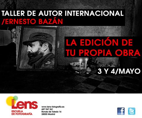 Taller de Ernesto Bazán en LENS