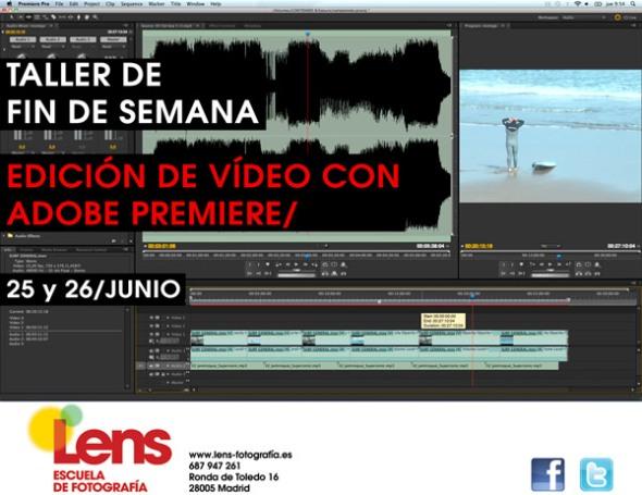 Taller de Edición de Vídeo con Adobe Premiere en LENS