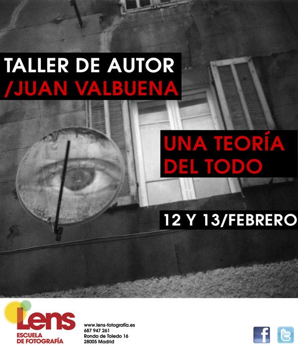 Taller de Juan Valbuena en LENS