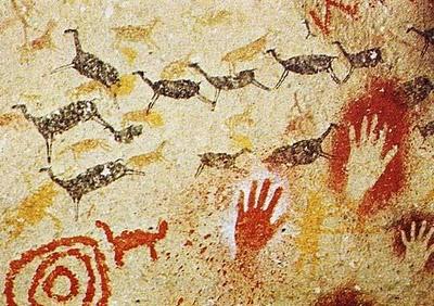 Pinturas rupestres en las cuevas de Altamira