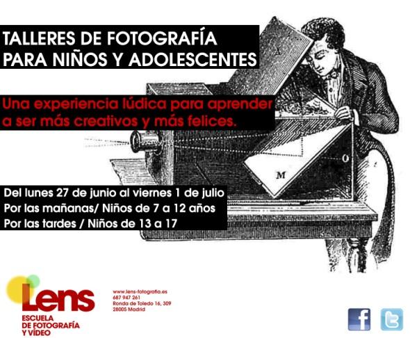 Talleres infantiles de fotografía en Madrid
