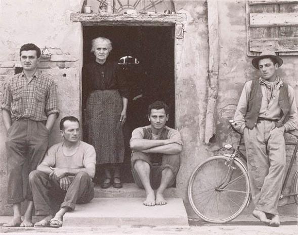 Paul Strand - The Lusetti Family, 1953