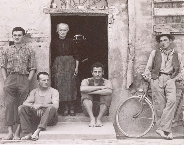 Paul Strand - The Lusetti Family, 1953