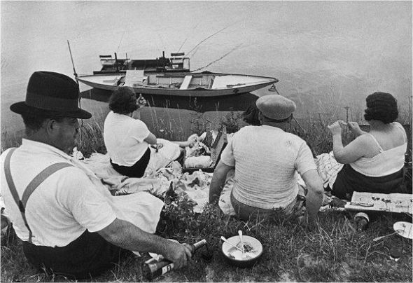 Henri Cartier-Bresson: Orillas del Marne, 1938