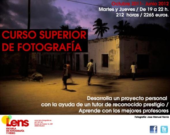 Curso Superior de Fotografía en LENS