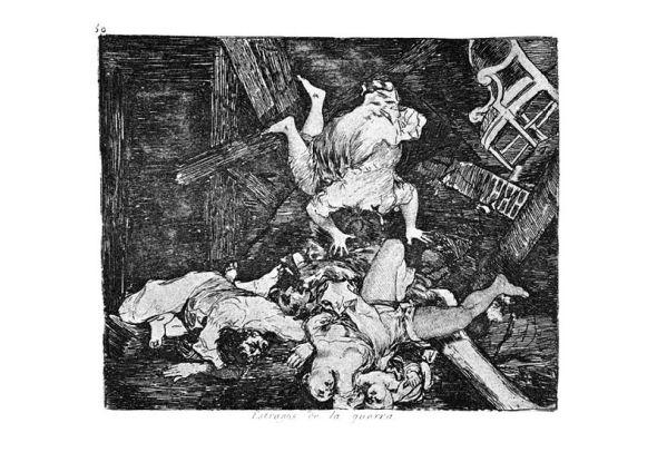 Francisco de Goya - Estragos de la guerra
