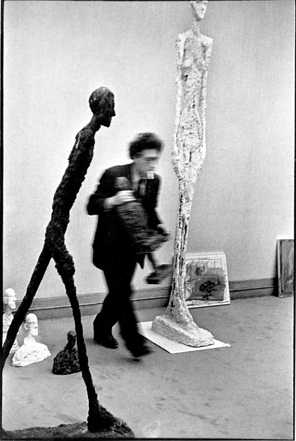 Henri Cartier Bresson - Alberto Giacometti, 1961
