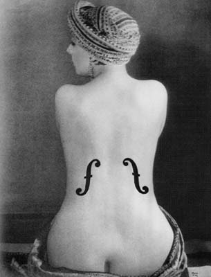 Man Ray - El violin de Ingres 1924