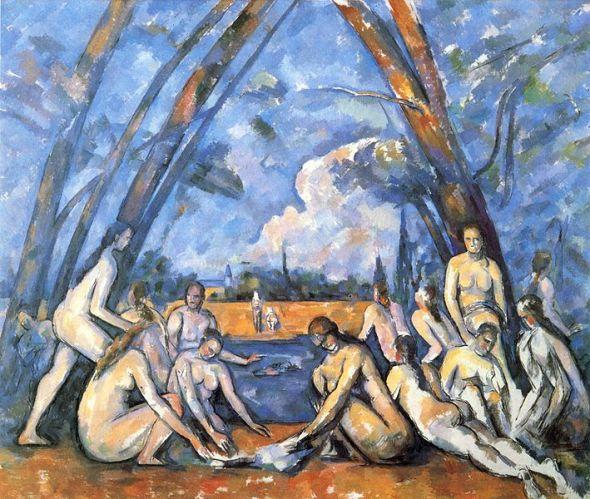 Paul Cézanne - Les Grandes Baigneuses