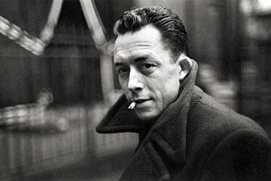 Henri Cartier-Bresson - Albert Camus, 1947