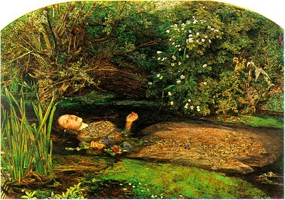 John Everett Millais - Ophelia,1852