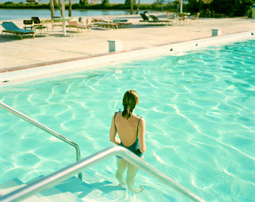 Stephen Shore: Ginger Shore, Causeway Inn, Tampa (1977)