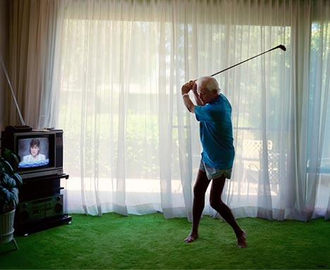 Larry Sultan - Practicando el swing