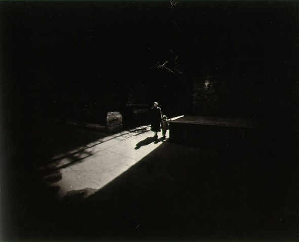 Harry Callahan: Eleanor y Barbara, 1953