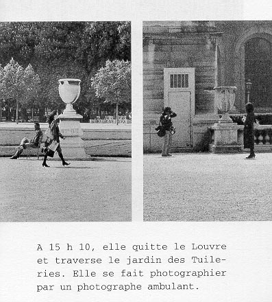 Sophie Calle - De la serie La filature, 1981