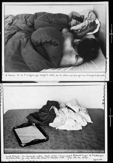Sophie Calle - De la serie Les Dormeurs, 1979