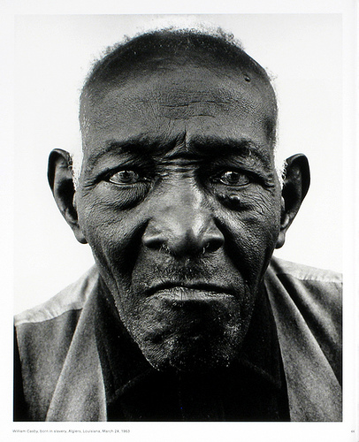 Richard Avedon - William Casby - Born a Slave, 1963