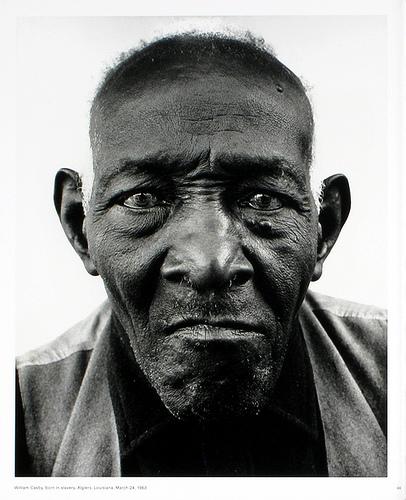 Richard Avedon - William Casby - Born a Slave, 1963