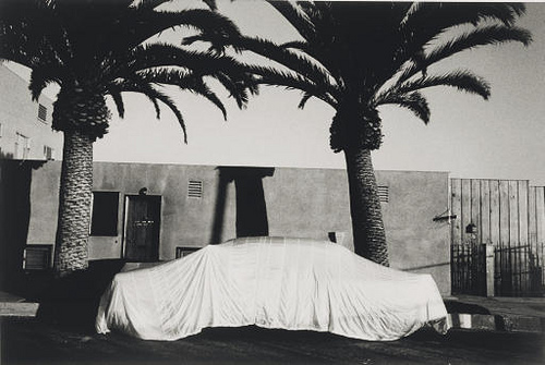 Robert Frank - Covered Car, Long Beach, 1956