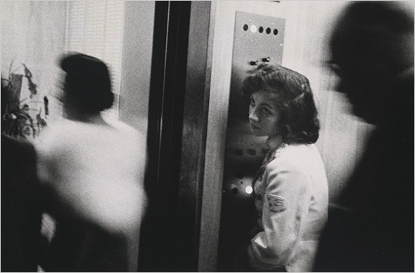 Robert Frank - Elevator, Miami Beach (1955)