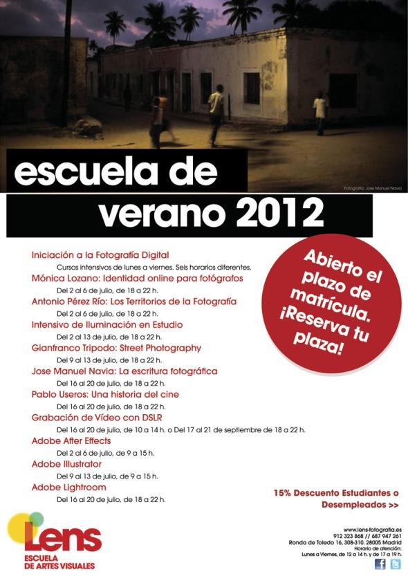Cursos de fotografía y vídeo en Madrid
