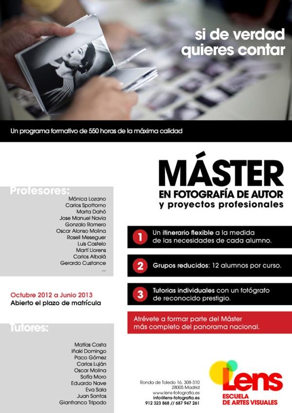 Máster de Fotografía en Madrid