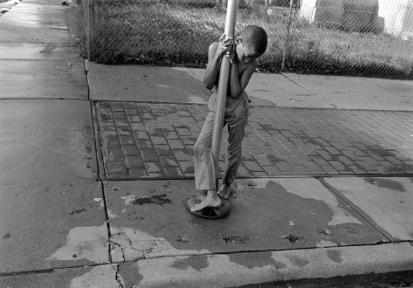 Mark Steinmetz - Chicago, Illinois, 1990 (de su libro Summertime)