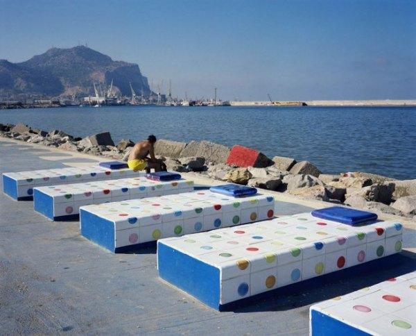 Wim Wenders - Sun Bather, Palermo, 2007