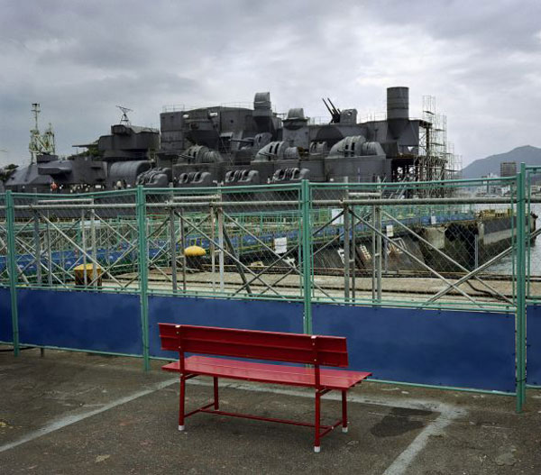 Wim Wenders - The Red Bench, Onomichi, 2005