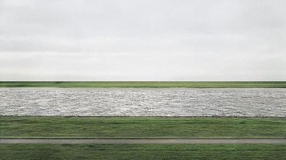 Andreas Gursky - Rhein II