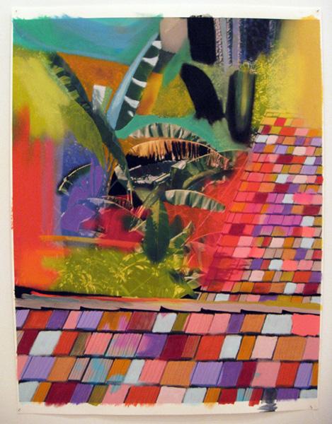 Sam Falls - Crayon Roofs, 2011